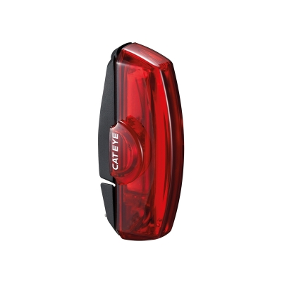Cateye Rapid X Rear Light, USB Rechargable (50 Lumen)