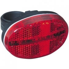 Cateye TL-LD500 3-LED Rear Light incl. British Standar...