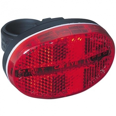 Cateye TL-LD500 3-LED Rear Light incl. British Standard Reflector