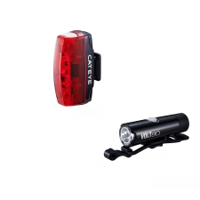 Cateye Volt 80 XC Front Light and Rapid Micro USB Rech...
