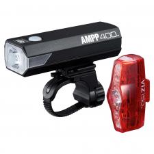 Cateye AMPP 400 / Viz 150 USB Rechargeable Light Set