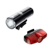Cateye Volt 400 XC Front Light and Rapid Mini USB Rech...