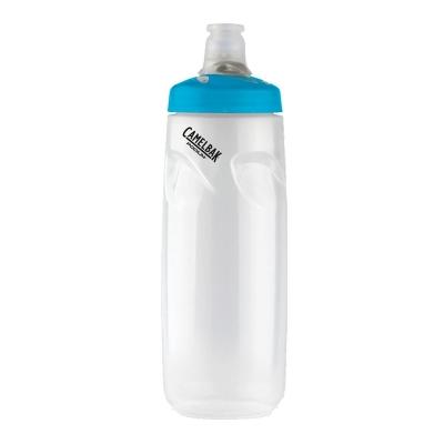 Camelbak Podium Bottle 710ml (24oz)  - Clear with Coloured Cap
