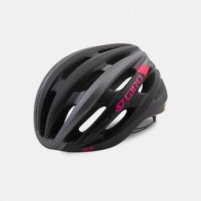 Giro Saga Women's Road Helmet - Matt Black/Pink