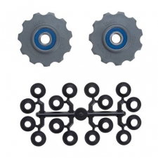 Tacx Jockey Wheel Set, 11 Teeth (Shimano 9, 10 Speed) ...