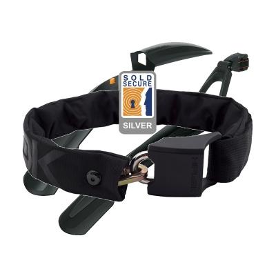 Hiplok Original V1.5 Wearable Chain Lock 8mm X 90cm - Waist 24-44 inches (Silver Sold Secure)
