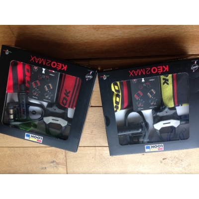Look Keo 2 Max Road Pedals Gift Package (contains pedals, socks & multi-tube)