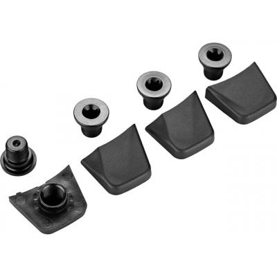 SRAM Chainring Bolt Kit, SRAM RED, 4X1 M8X6.5X3.4 Aluminium, including bolt cover, qty 4