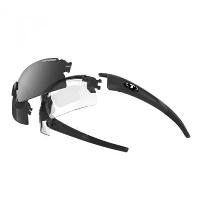 Tifosi Pro Escalate Glasses with Half & Shield Frames and Interchangable Lenses