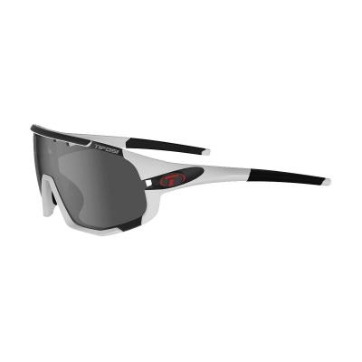 Tifosi Sledge Glasses with Interchangeable Lenses - Matte White