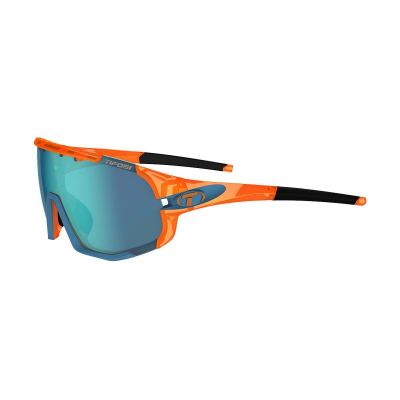 Tifosi Sledge Glasses - Interchangeable Lenses with Clarion Blue Lens