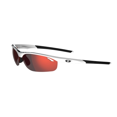 Tifosi Veloce Glasses - Interchangeable Lenses with Clarion Red Lens